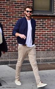 パンツと靴の同系色
